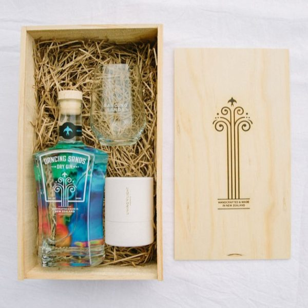 Gift Box – Dry Gin & Living Light Candle
