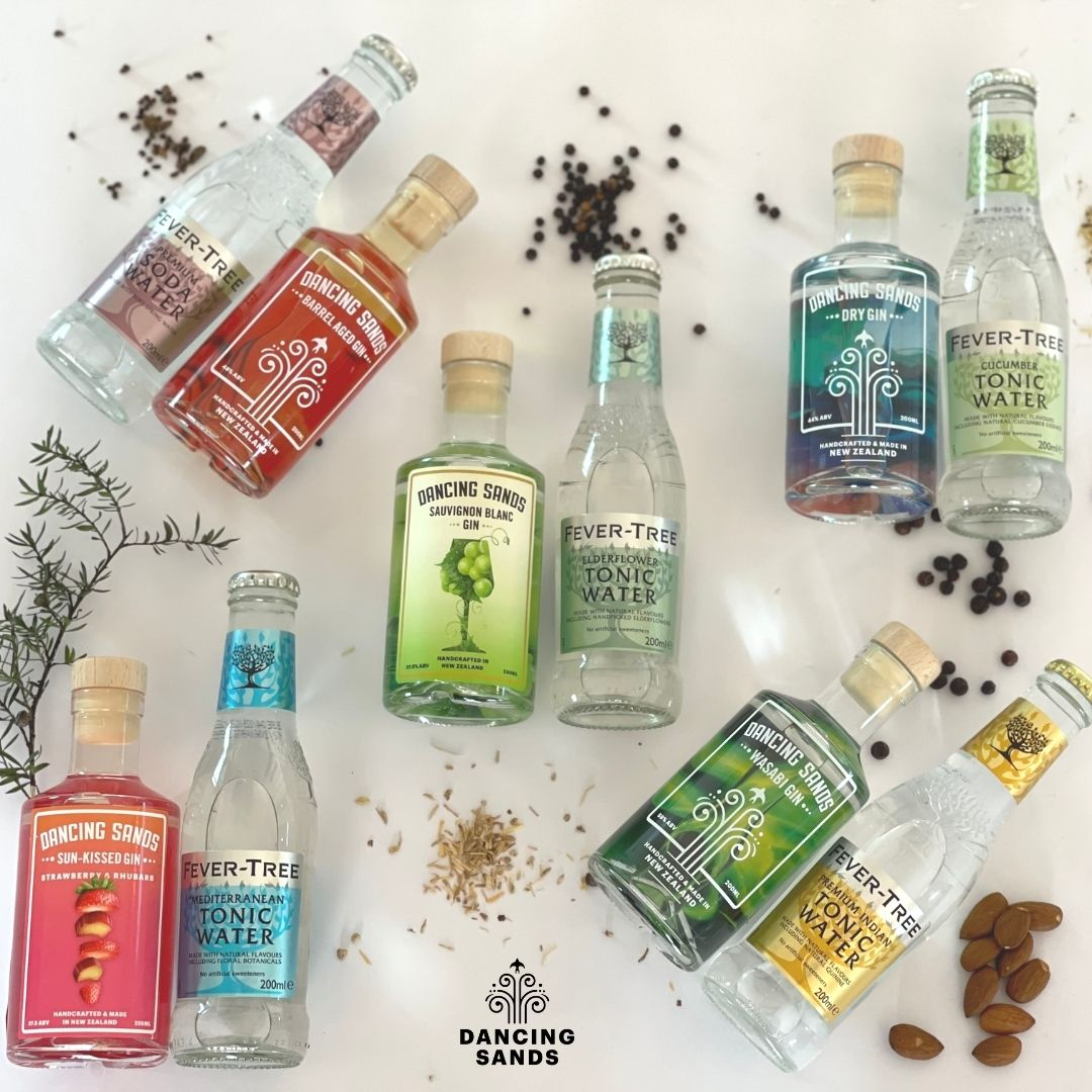 Dancing Sands and Fever Tree mixed pack pairings